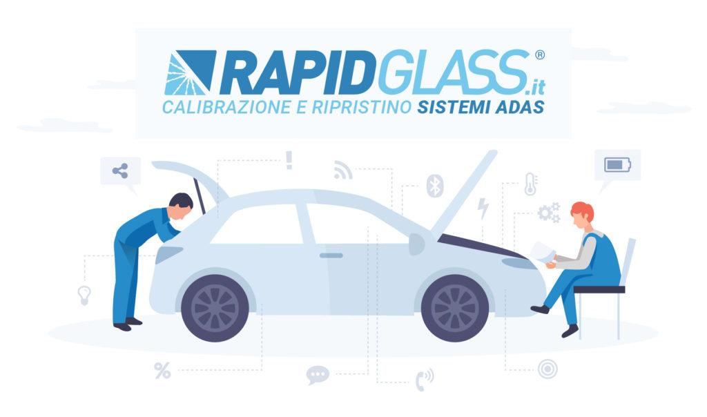 RAPIDGLASS - Calibrazione e ripristino sistemi ADAS